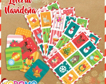 Christmas lottery-Digital archive ready to print
