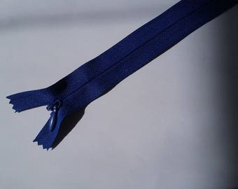 29 cm Royal Blue invisible zipper No. 33