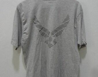 BIG SALE Vintage Air Force T shirt Size L