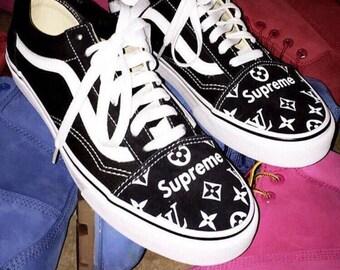 supreme vans lv