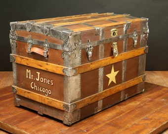 US  Steamer  Trunk
