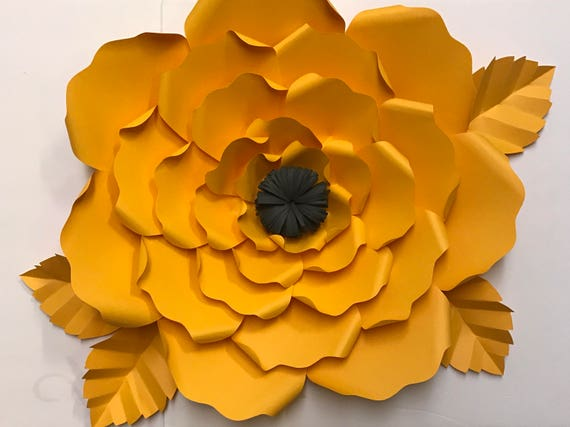 Do it yourself large paper flower kit like this item mightylinksfo Images