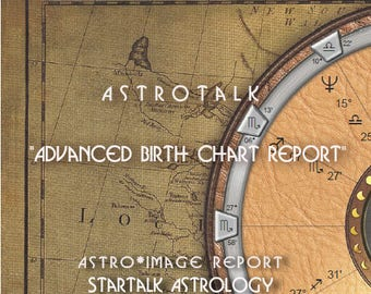 Advanced Natal Birth Chart and Forecast  Reading.