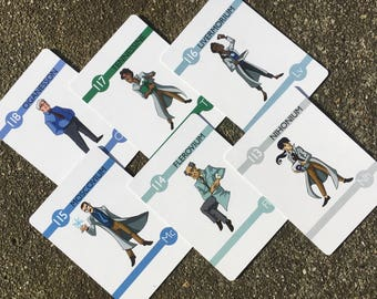Elements - Experiments in Character Design Flash Cards -- 113-118 BOOSTER PACK