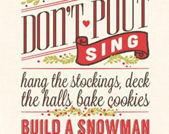 Christmas Rules 8x18 PRINT
