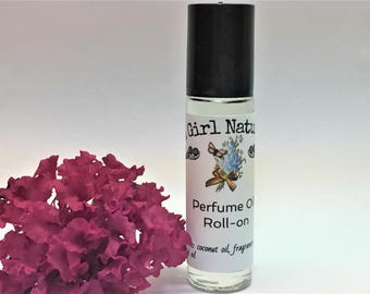 Jasmine Perfume Perfume Roll On, Perfume Oil, Perfume, Natural, Handmade