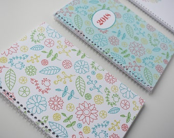 Simple Patterned Planner Covers