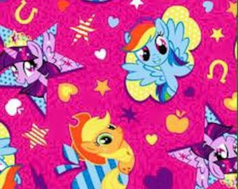 My Little Pony KNIT Fabric