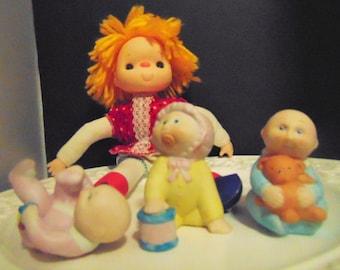 Porcelain Miniature Cabbage Patch Babies,