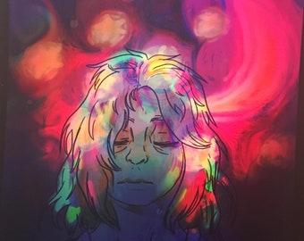 Fever Dream - Original Digital Art Print