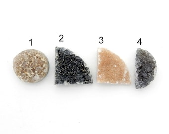 Druzy Cabochon - YOu ChOOsE - Perfect for Jewelry Making (RK1B1-58)