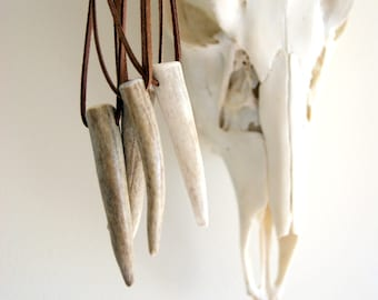 Antler Horn Necklace