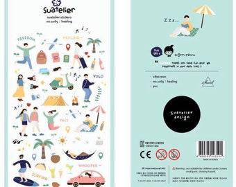 Stickerset by Suatelier-healing