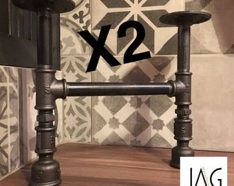 Pair of feet / industrial style furniture