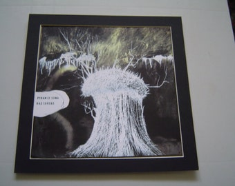 Radiohead The Pyramid Song  Original  Poster in A Custom Made Mount Ready To Frame