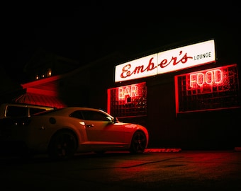 ember's bar - benwood, wv - photographic print