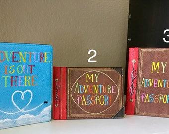 1 HAND PAINTED Passport Holder