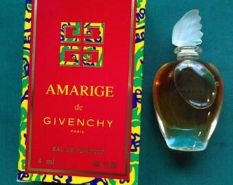 Vintage Original Womens Givenchy Amarige Eau de Toilette