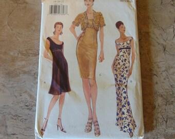 Vogue Patterns 1998 Uncut Pattern No. 9852   Misses Petite Jacket and Dress