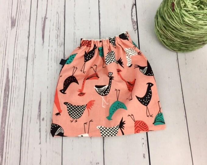 Chickens , Yarn Ball bag, Yarn Bowl, Yarn Holder, Yarn Cozy