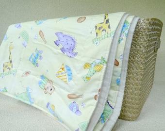 Organic cotton blanket - baby toddler bedding