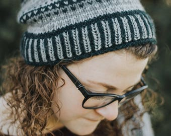 Midnight Sea Hat Pattern.