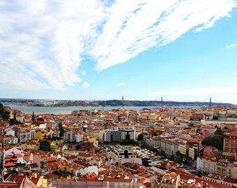 City Landscape - Bridge in Lisbon