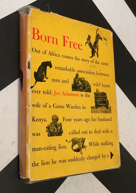 Born Free: A Lioness of Two Worlds by Joy Adamson (Hardcover, 1960)