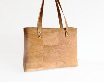 Cork Bag - Eco Friendly Shoulder Bag - Gift Ideas - Vegan bag