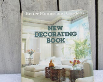 Vintage Mid Century Decorating Book 1950\'s Better Homes