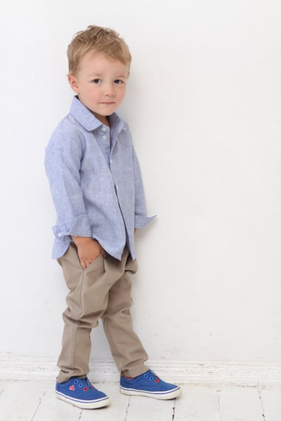 Linen Baby Boy Clothes