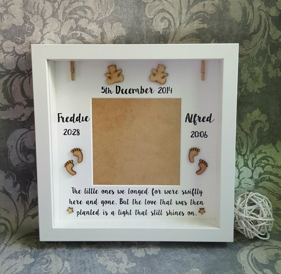 Angel Baby Memory Photo Frame, Lost baby photo frame, Angel baby ...