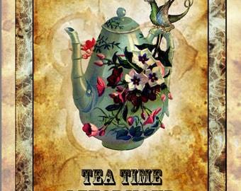 Tea Time Lenormand cards