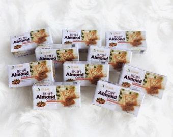 Miniature Cookie Box,Miniature Paper Box,Miniature Box,Miniature Package,Dollhouse Cookie,Dollhouse Box,Miniature Sweet,Miniature Cookie