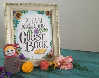 Guestbook Sign (not PDF)