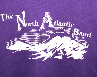 Vintage The North Atlantic Band XL