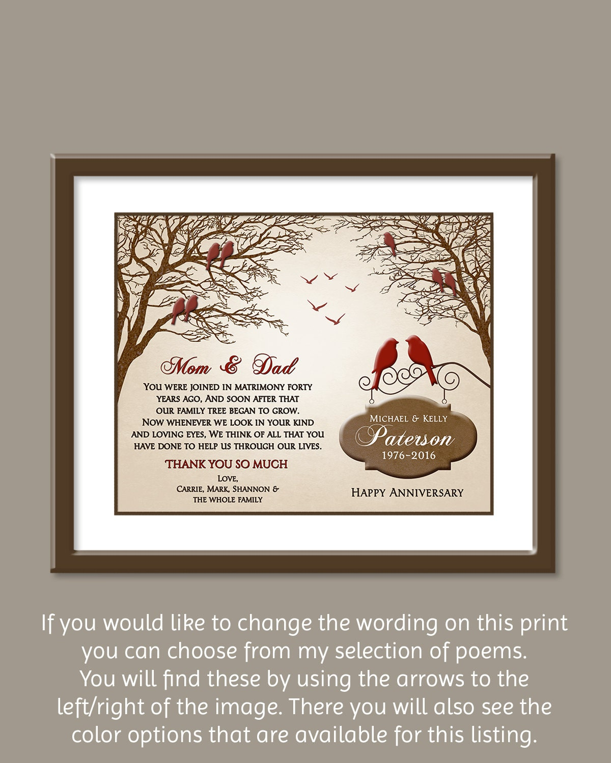 Ideas For 40th Wedding Anniversary Gifts: Ruby Anniversary Gift 40th Anniversary Gift Ideas 40th