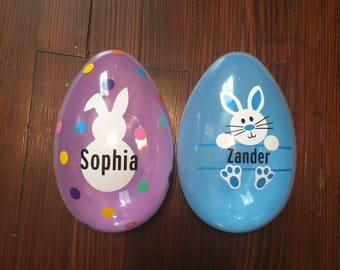 Jumbo personalized Easter eggs, Easter egg, custom Easter egg,