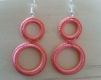 earring crochet round