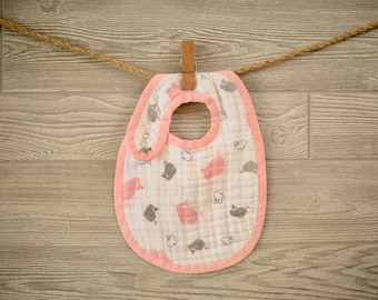 Muslin Baby BIB SEWING PATTERN - Digital Download - Aiden & Anais Burpy Inspired