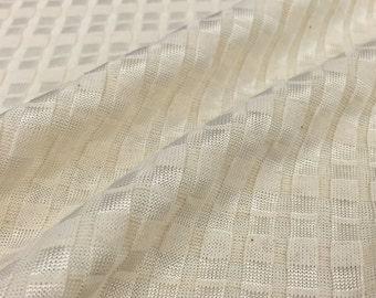7x4 Textured Cotton/Rayon Rib