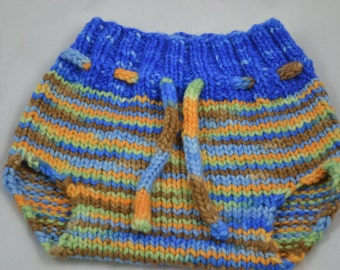 Hand dyed wool soaker