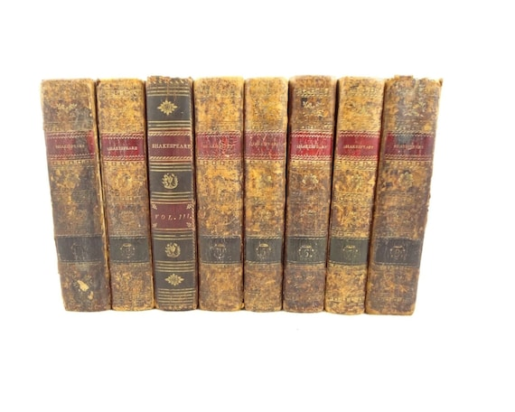 1802-1804 complete Works of Shakespeare,1st U.S. w/ Johnson's,1st American subscription