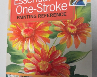 "Decorative  painting book ""Donna Dewberry's Essential One Stroke Painting Reference"" New 160 pages"