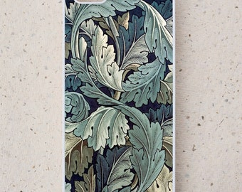 iPhone Cover(all models) - Samsung Galaxy S3 S4 S5 S6 S7 S8 mini  & more - William Morris - Illustration -smartphone - Mobile - Acanthus