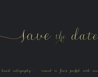 Digital Font | INSTANT DOWNLOAD |Roicamonta (Regular) italic font | single font file | Open Type Font (.otf)
