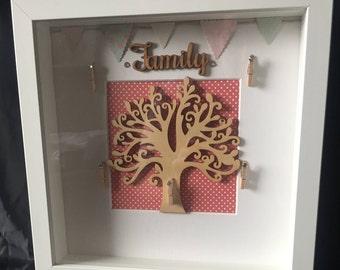 Family Tree 3D Photo Frame.