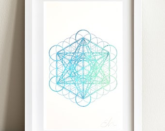 Holographic Metatrons Cube