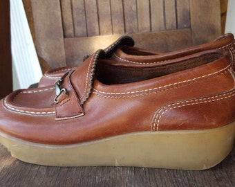 BIG CATS    ///    Leather 1960s Loafers