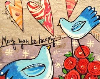 Print : May You be Happy